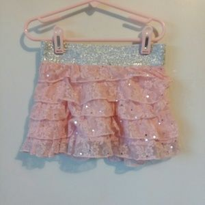 Justice little girls skirt sz 6